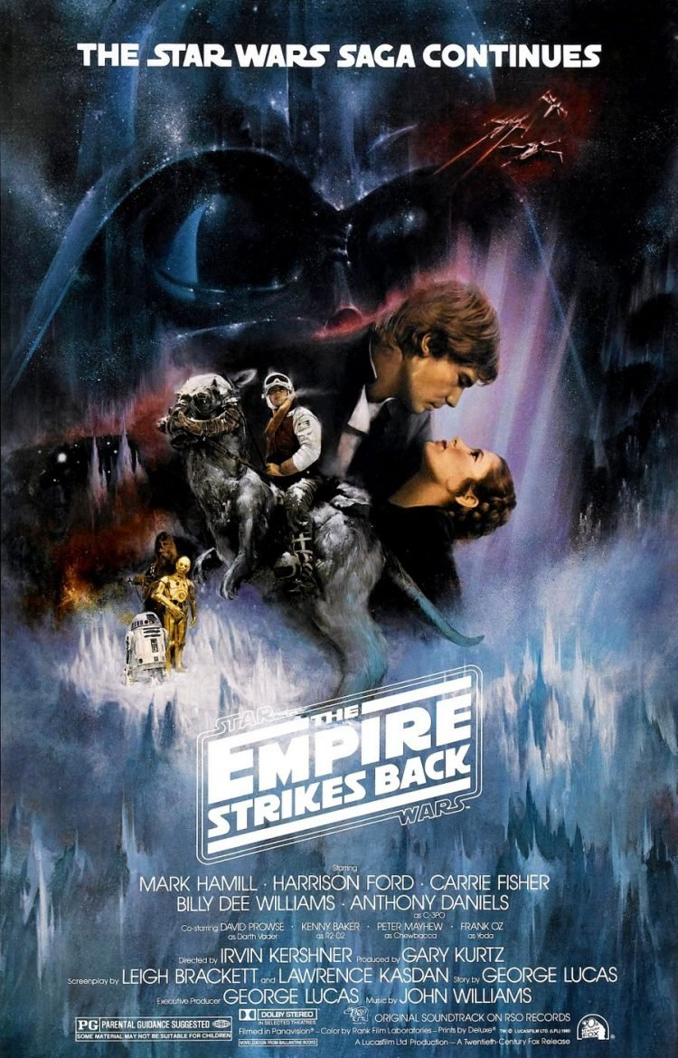 The Empire Strikes Back - Star Wars movie poster (2)