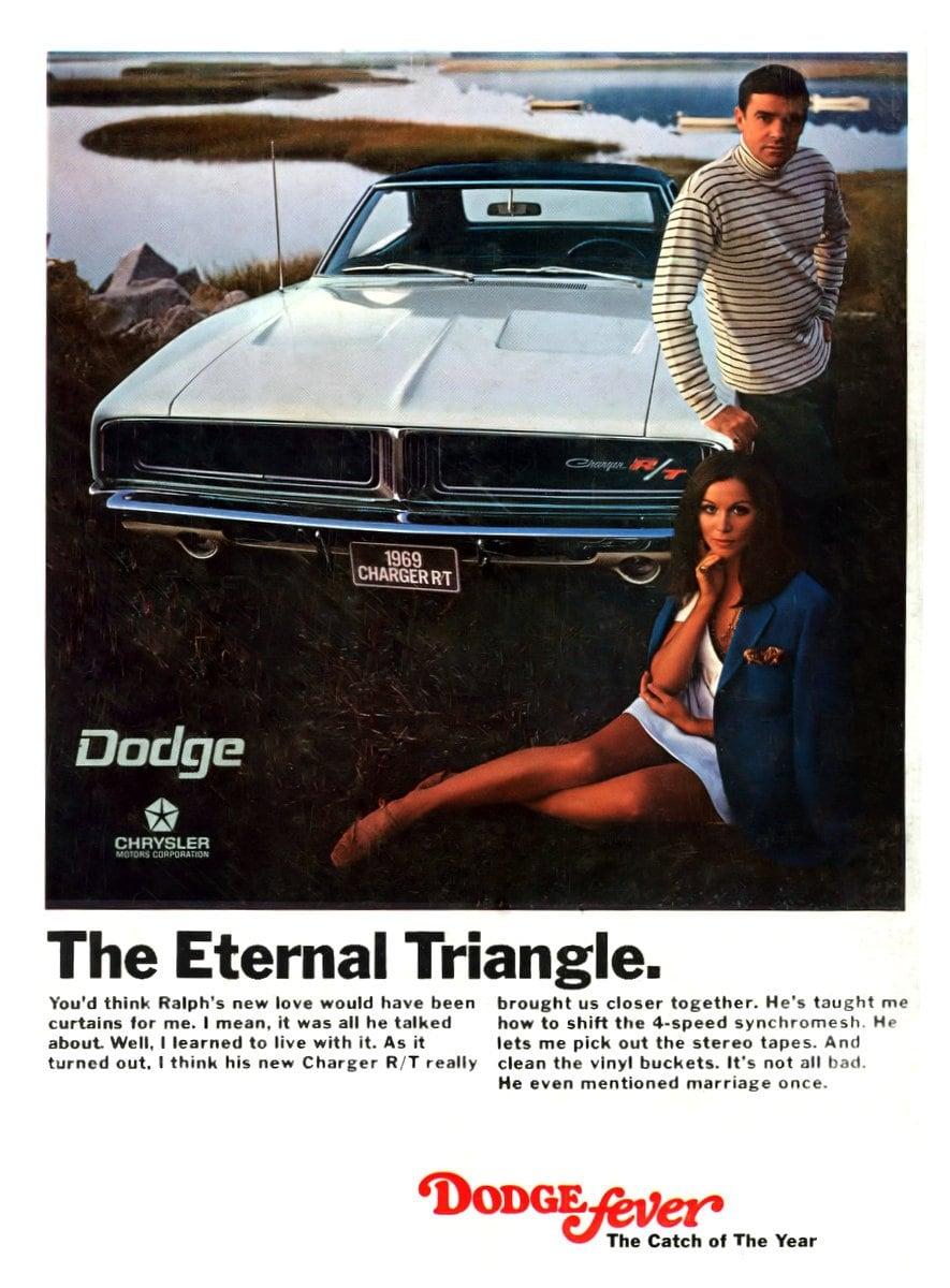 The Eternal Triangle - The 69 Dodge Charger