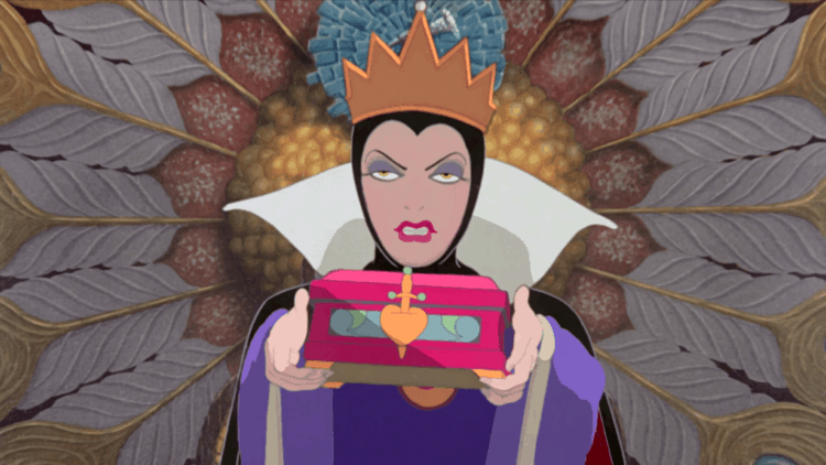 The Evil Queen from Snow White - Vintage Disney movie