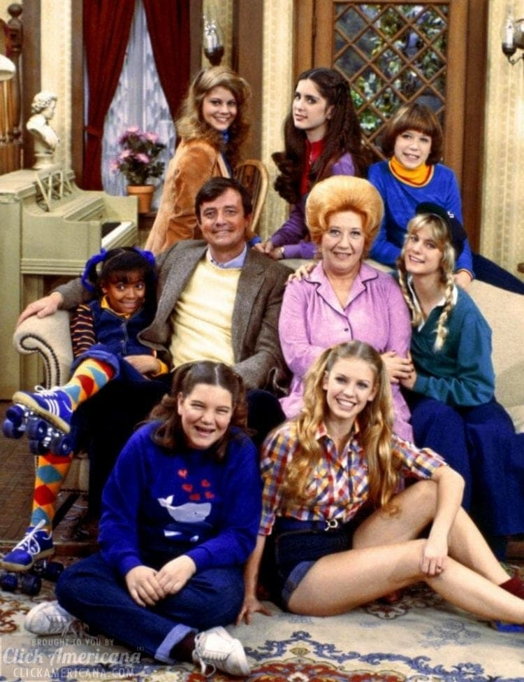 The Facts of Life cast Season 1 - with Molly Ringwald