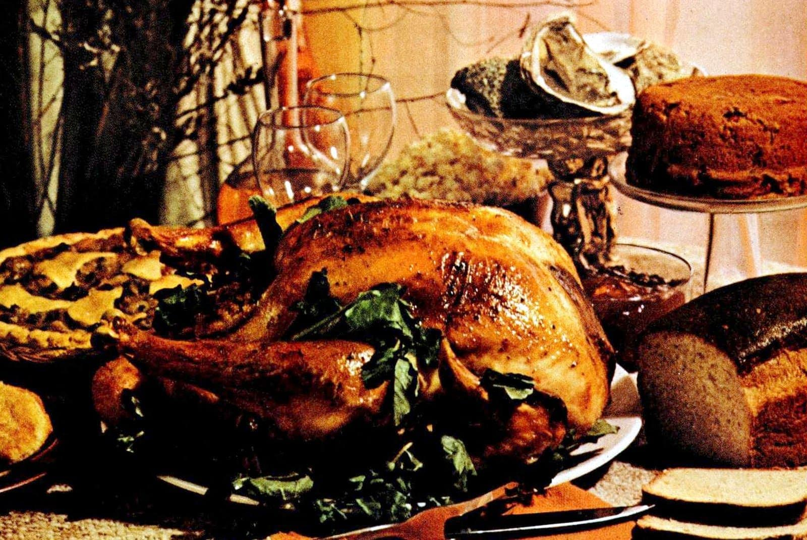 The First Thanksgiving Recipes for a tasty traditional Thanksgiving dinner (1975)
