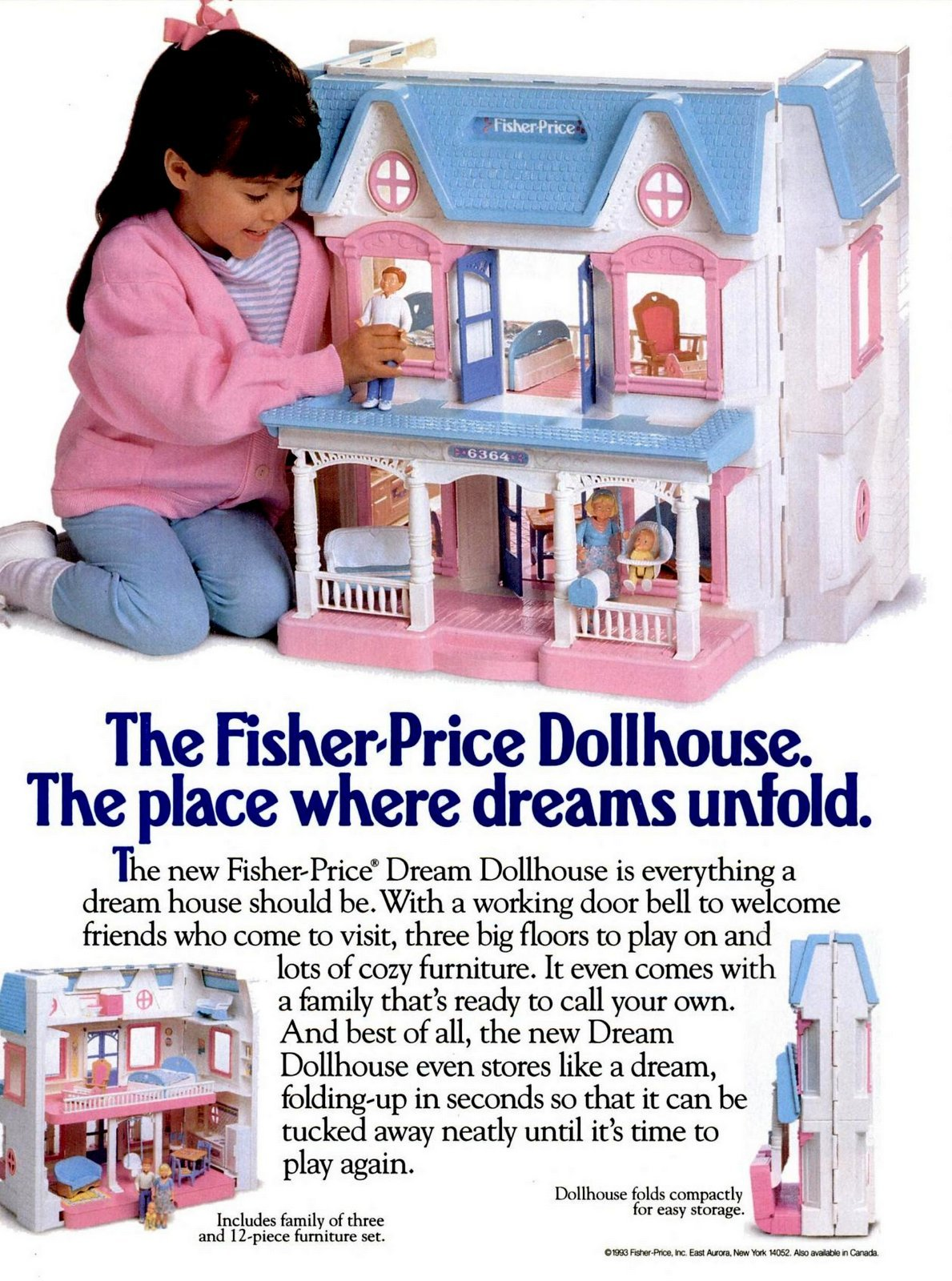 The Fisher-Price Dream Dollhouse The place where dreams unfold (1993)