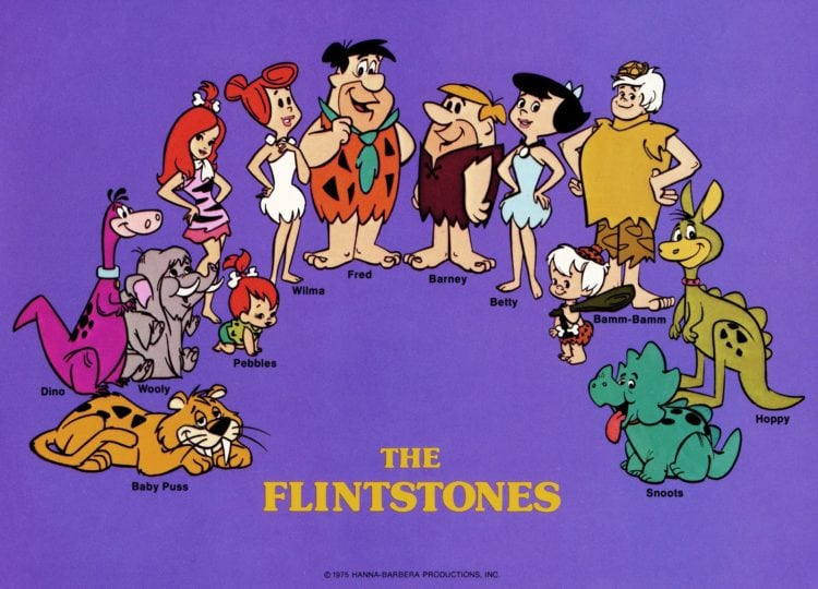 The Flintstones cast 1975