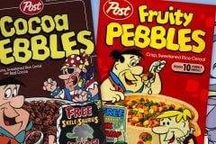 The Flintstones help debut Fruity Pebbles & Cocoa Pebbles cereals (1970)