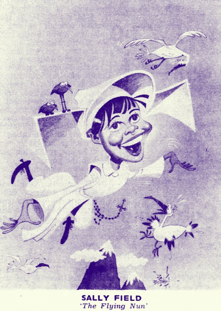 The Flying Nun TV show illustration (1967)