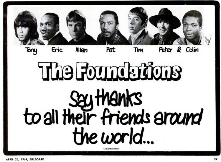 The Foundations The 60s band members