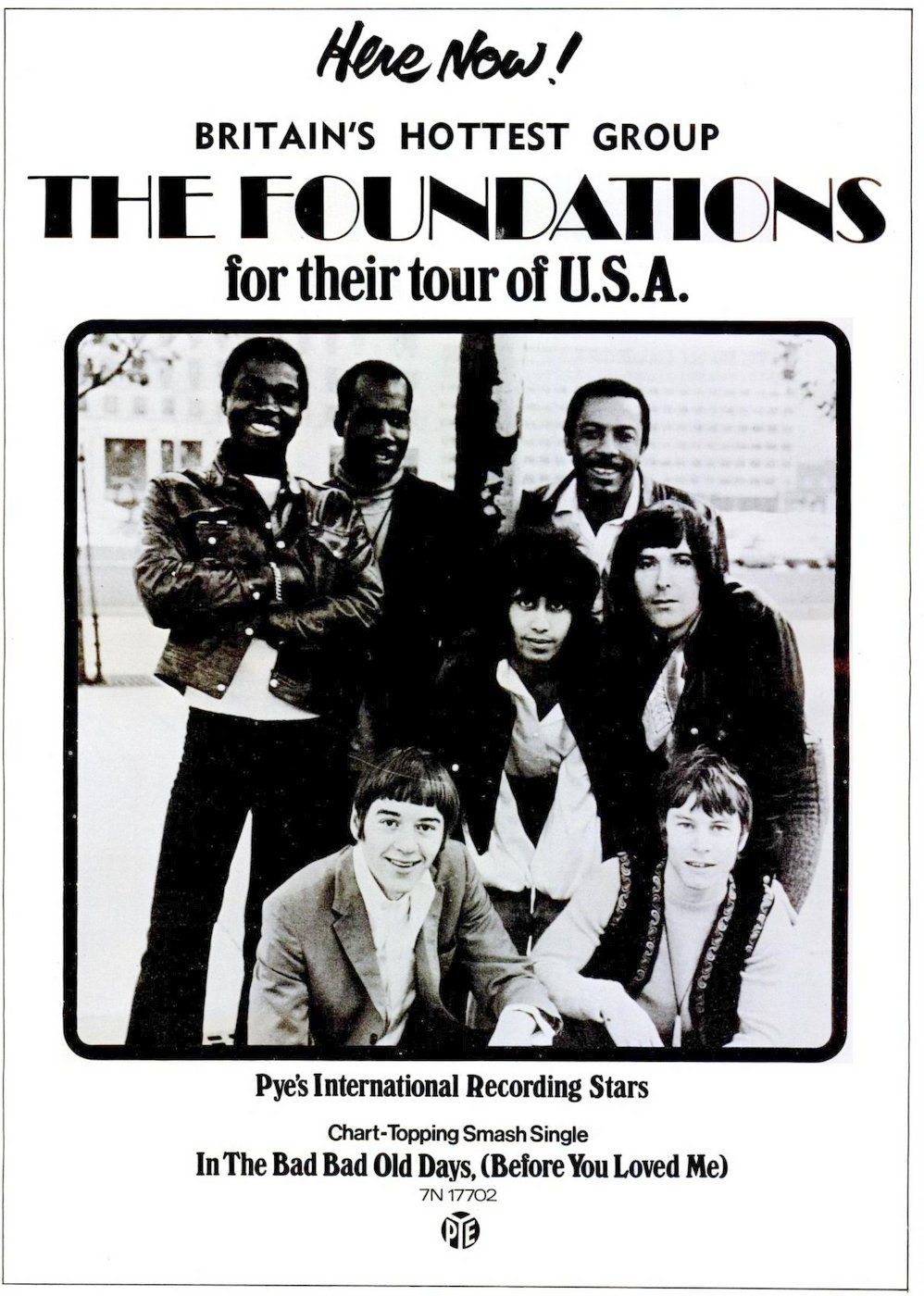 The Foundations US tour - 1969