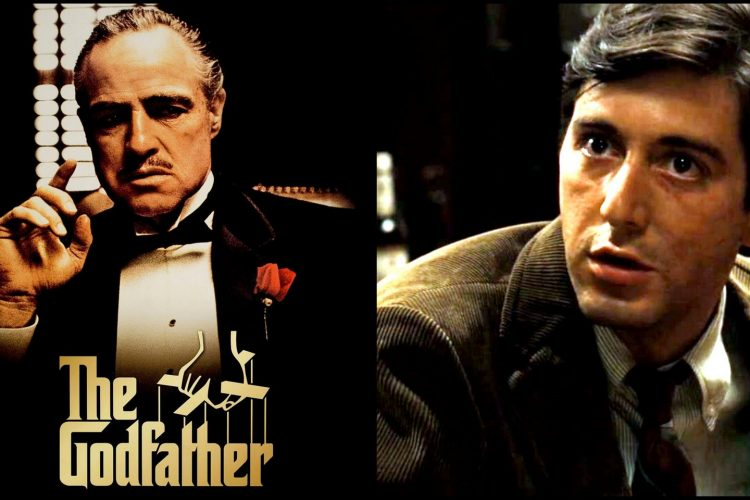 The Godfather movie - Brando and Pacino 1972
