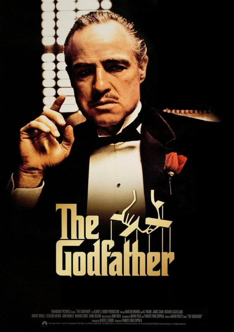 The Godfather movie poster 1972