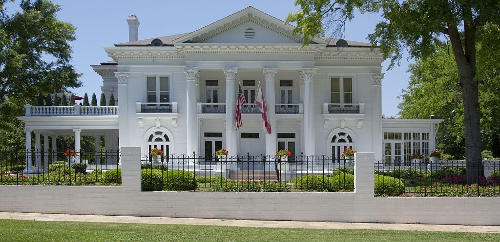The Governor's Mansion in Montgomery, Alabama