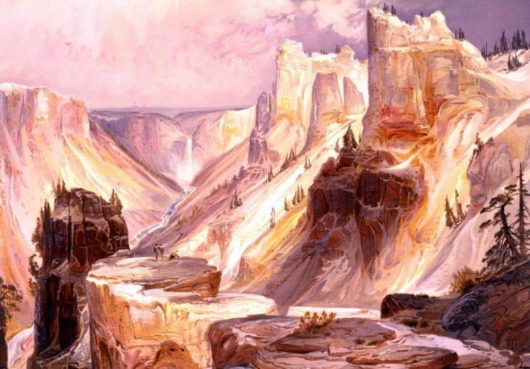The Grand Canon, Yellowstone