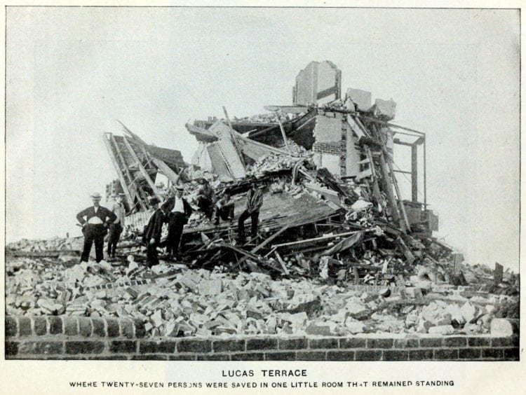 Lucas Terrace, where 27 people survived the the Galveston Hurricane of 1900