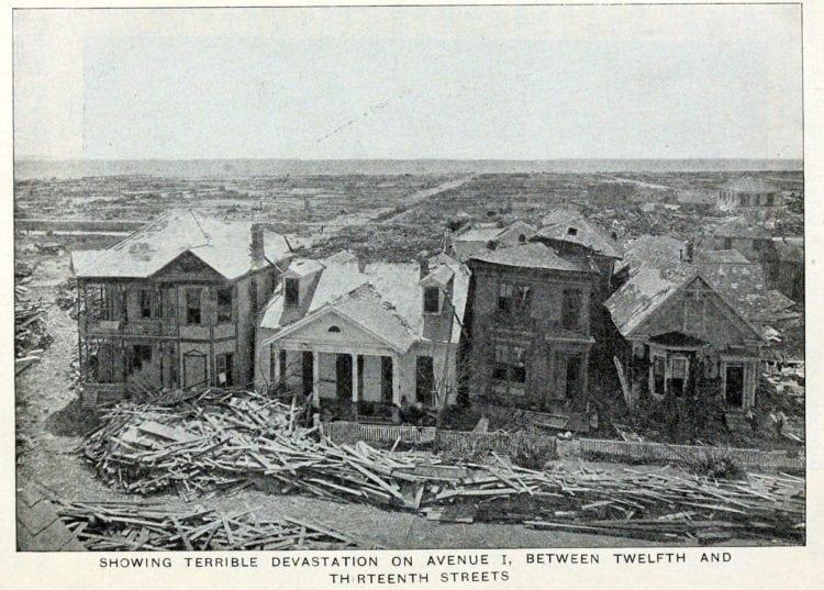 Photos of the aftermath: GThe Galveston Hurricane of 1900