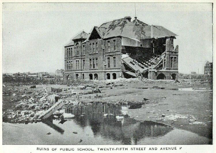 Ruins of public school - Galveston Texas