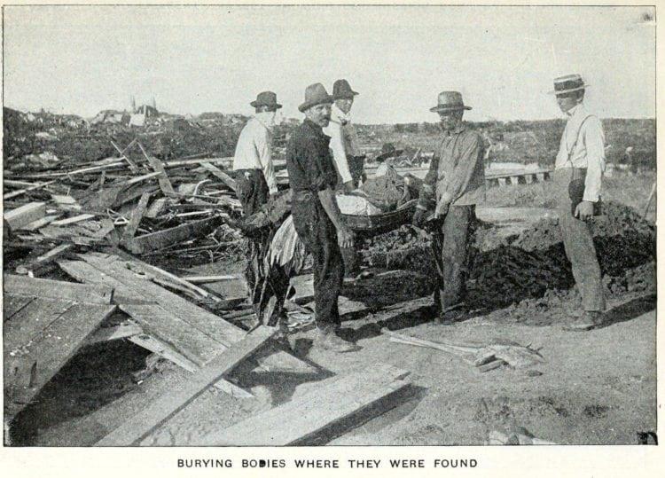 Pictures of Galveston's killer hurricane in 1900
