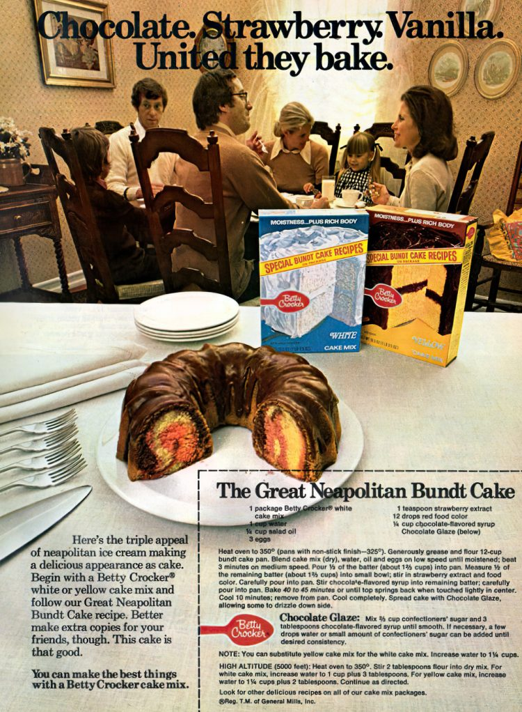 The Great Neapolitan Bundt Cake vintage 70s recipe (1)