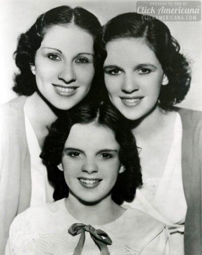 The Gumm Sisters - Judy Garland