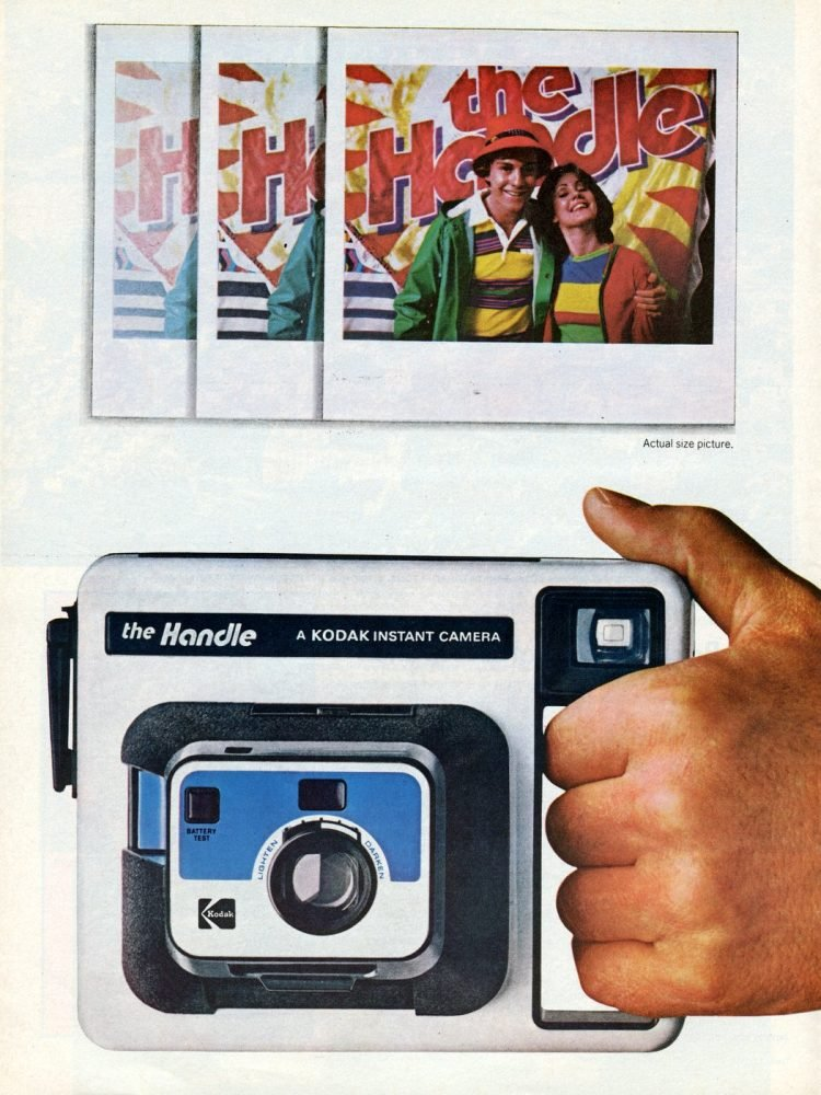 The Handle Kodak instant camera 1977
