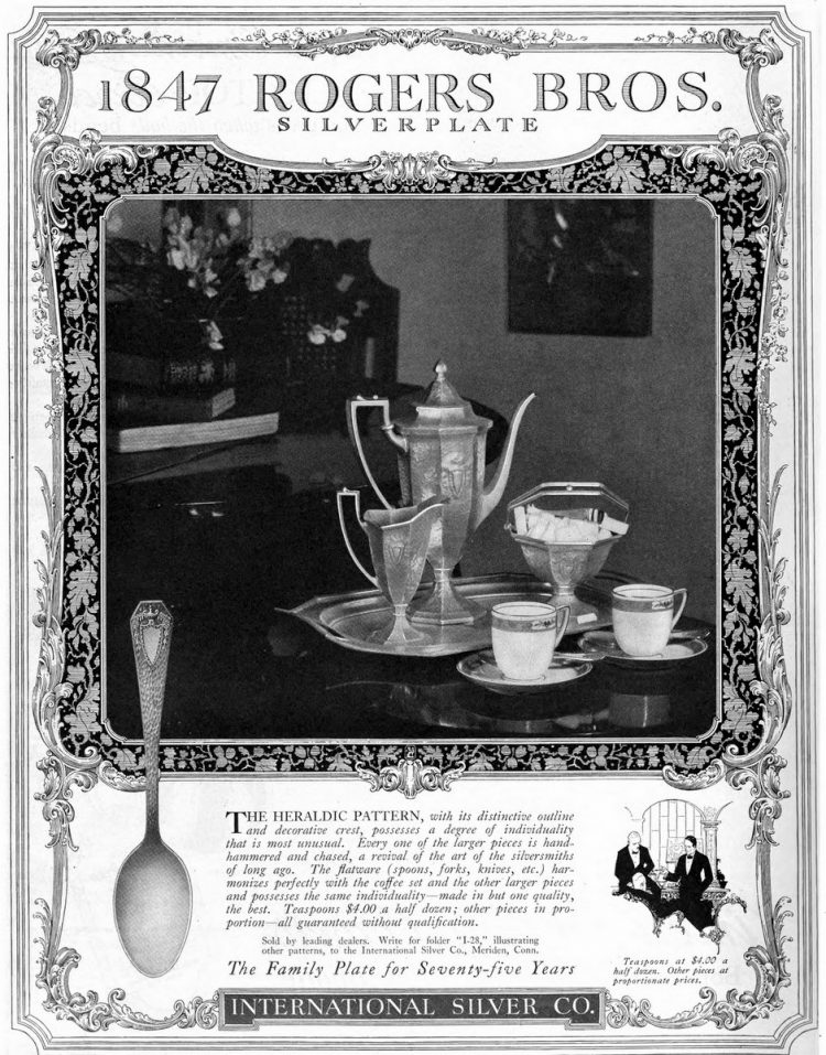 The Heraldic pattern (1921