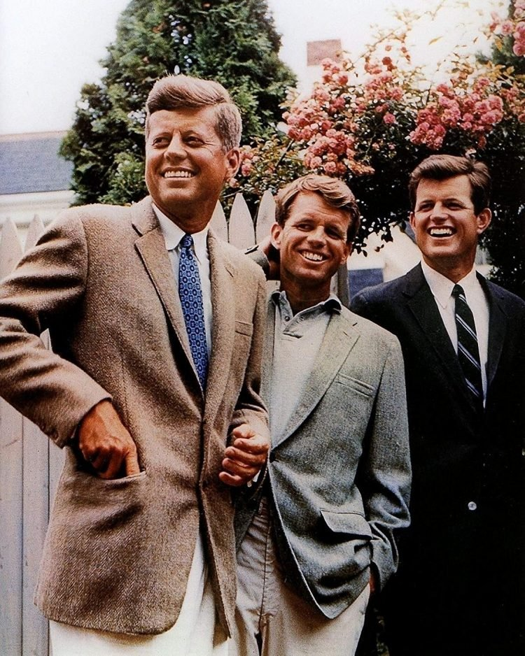 The Kennedy brothers - Jack, Bobby, Ted