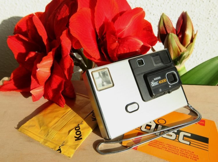 The Kodak Disc camera debuted in 1982, but couldn't live up to its promise
