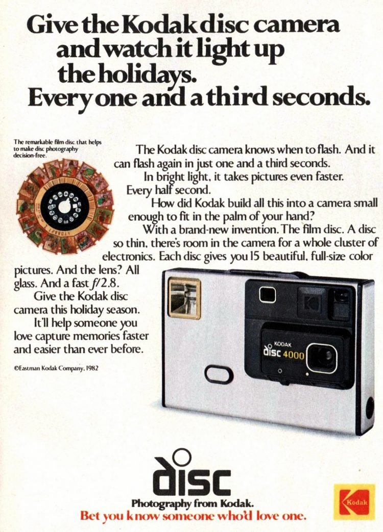 The Kodak disc camera - Dec 1982