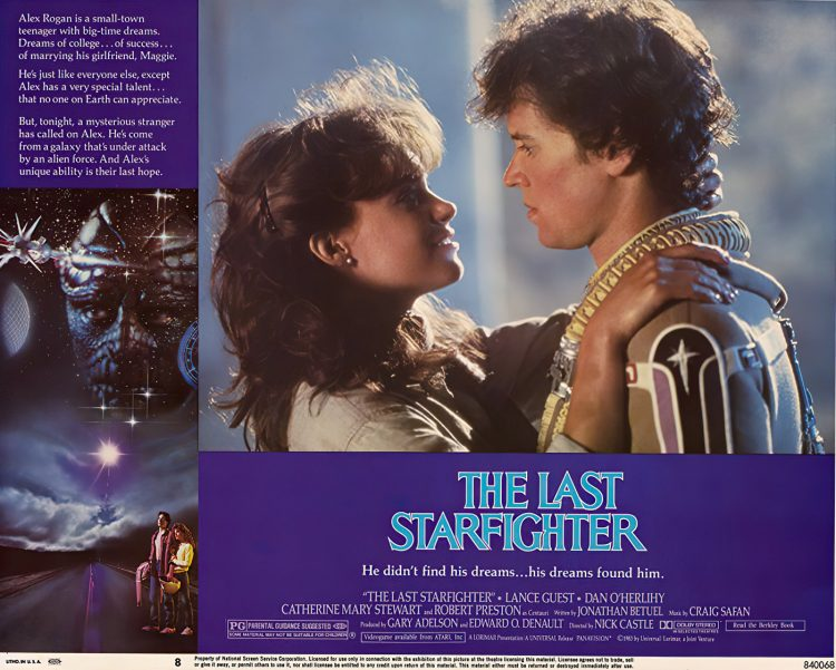 The Last Starfighter The classic space movie from 1984