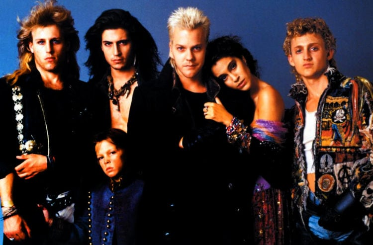 Vampires punk out in tongue-in-cheek movie 'Lost Boys' (1987 ...