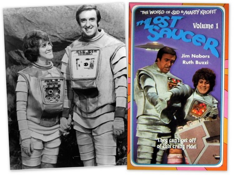 The Lost Saucer - Starring Jim Nabors Ruth Buzzi - Krofft TV show