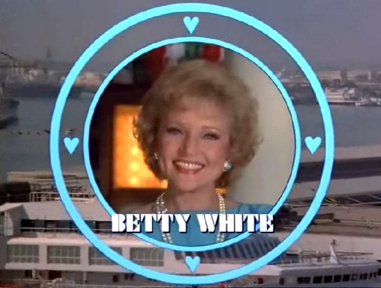 The Love Boat guest star Betty White