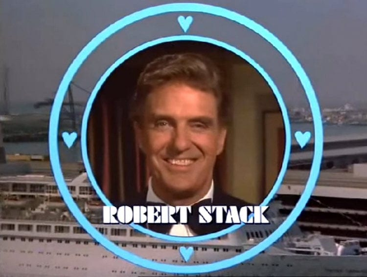 The Love Boat guest star Robert Stack