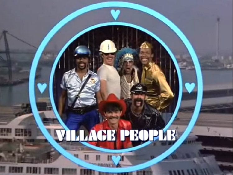 The Love Boat guest stars The Village People
