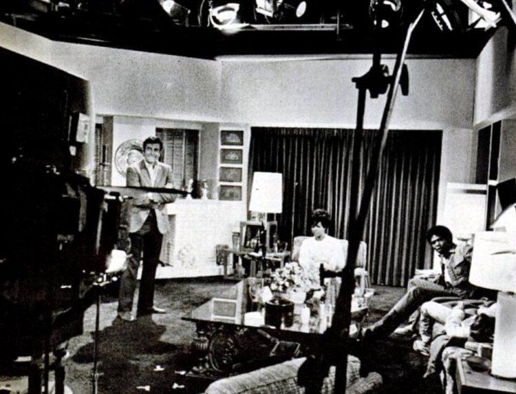 The Mannix studio set in 1969
