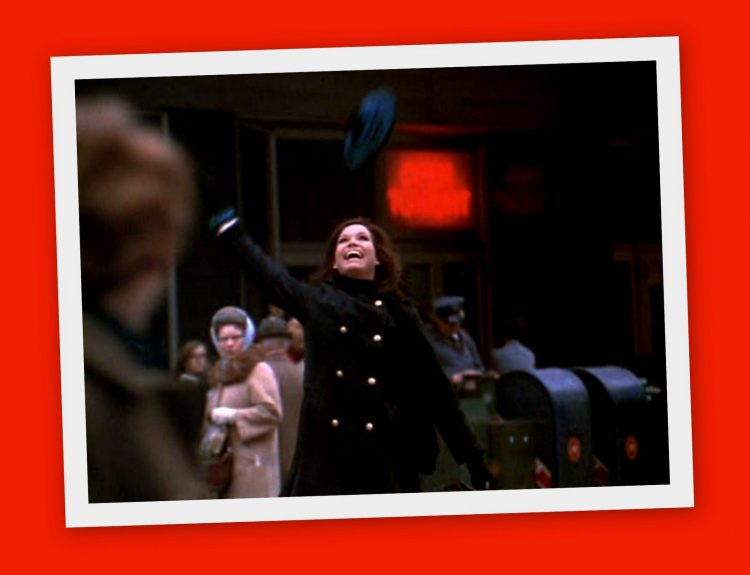 The Mary Tyler Moore Show Mary throwing her hat