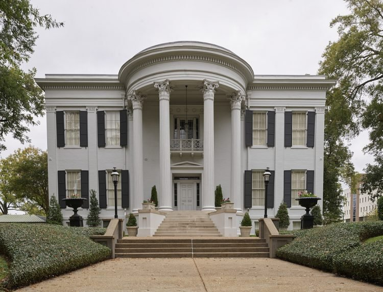 The Mississippi Governor's Mansion in Jackson