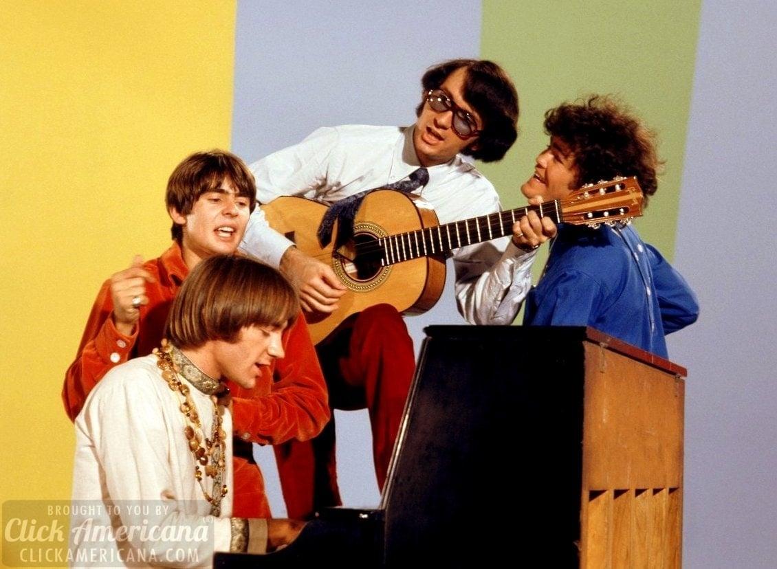 The Monkees - Davy Jones, Peter Tork, Mike Nesmith, Micky Dolenz