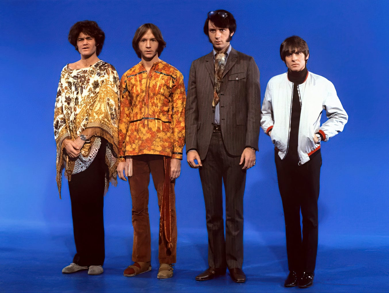 The Monkees looking confused
