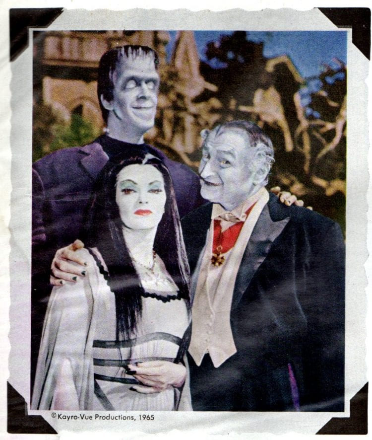 The Munsters TV show 1966 View-Master Pack
