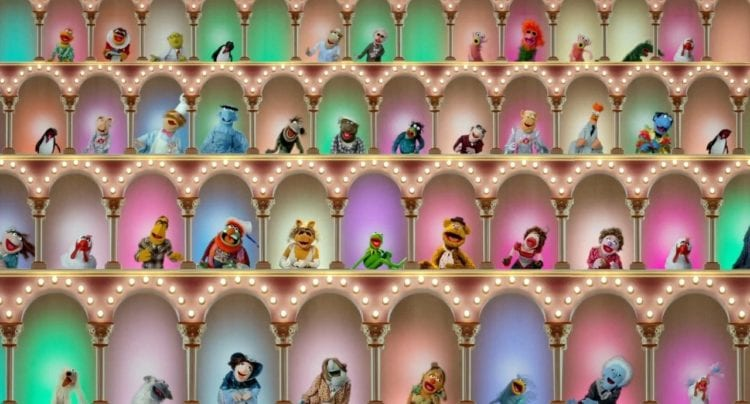 The Muppet Show muppets opening