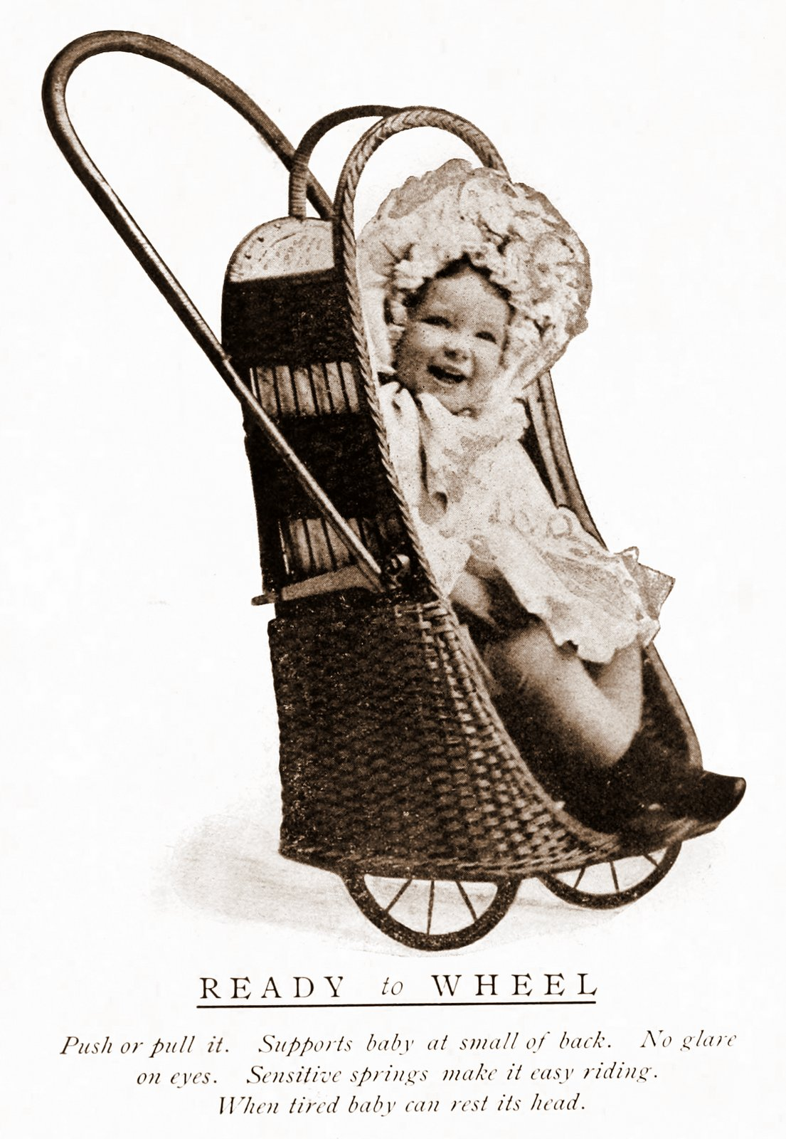 The Oriole Go Basket baby stroller-pram (1907)