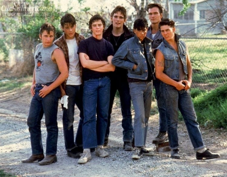The Outsiders movie cast - 1983