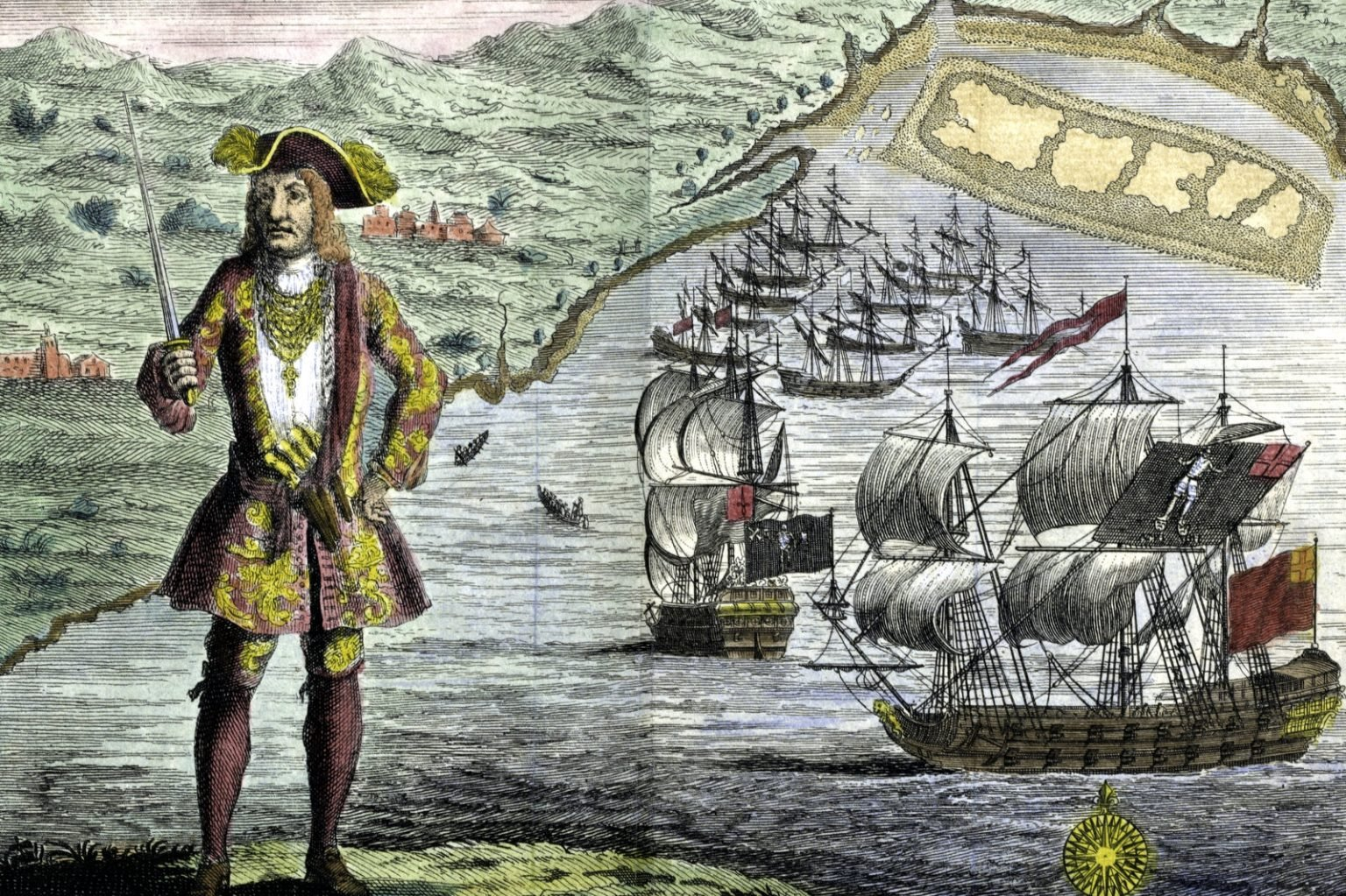 The Pirate Code The rules of the sea for the infamous Black Bart's ship in the 1700s