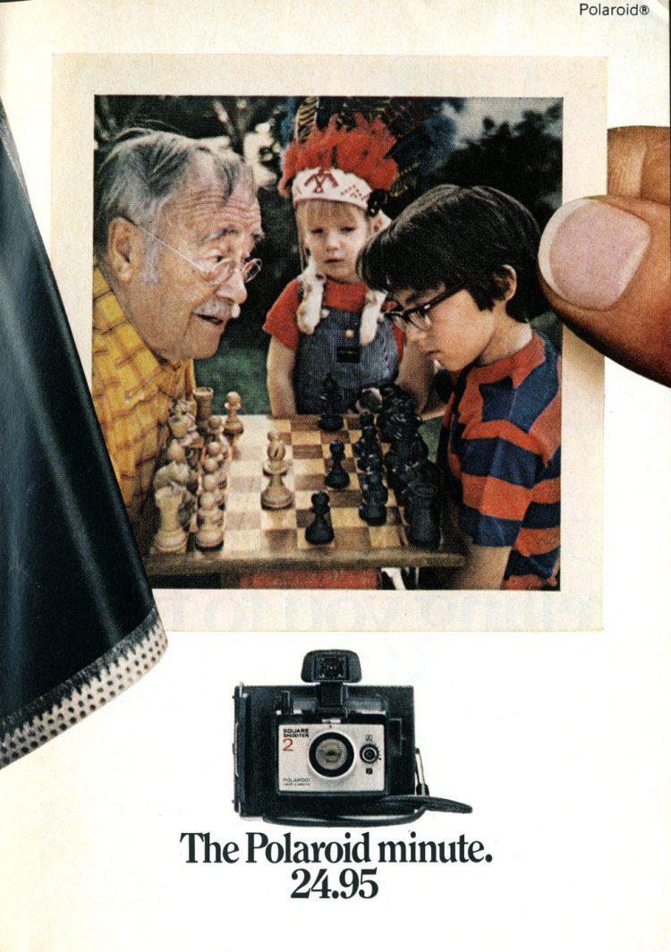 The Polaroid Minute camera - 1973