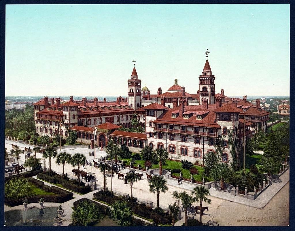 The Ponce De Leon, St. Augustine, Florida