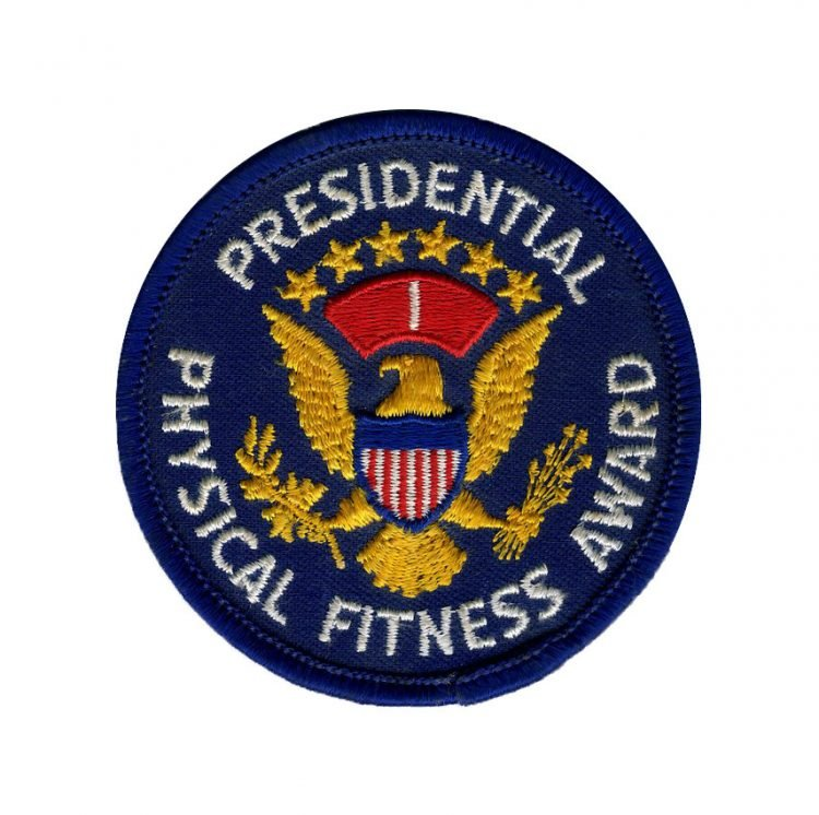 The Presidential Physical Fitness Award badge - year 1