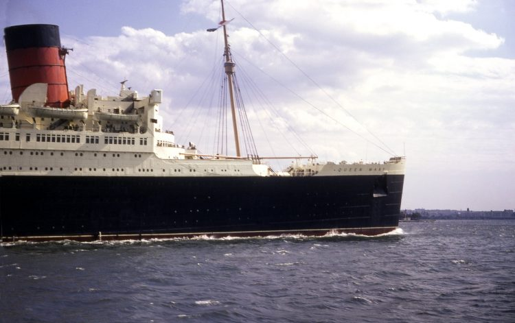 The Queen Mary - last voyage 1967