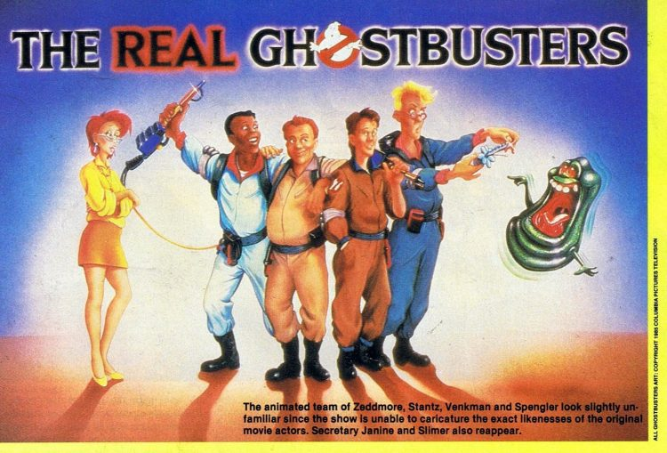 The Real Ghostbusters cartoon 1985