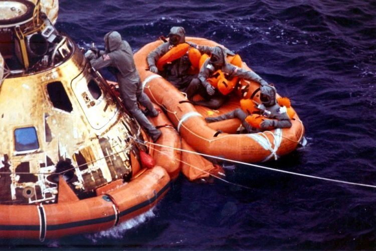 The Rescue of Apollo 11 1969 - Moon landing back to earth