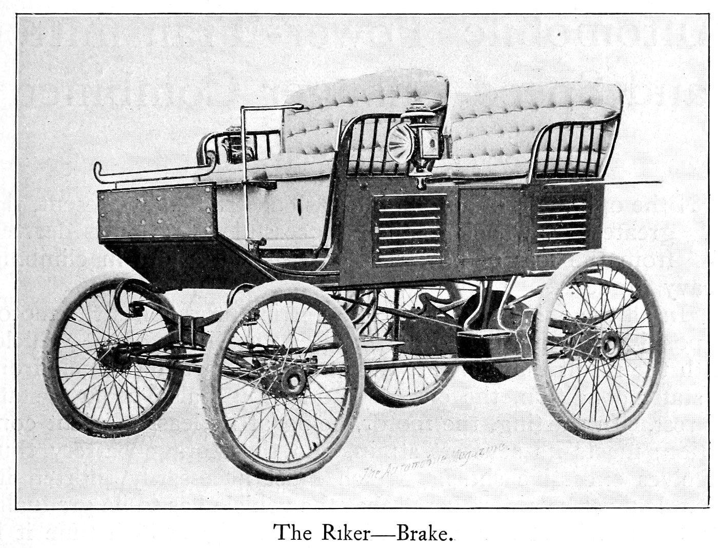 The Riker -- Brake (1899)