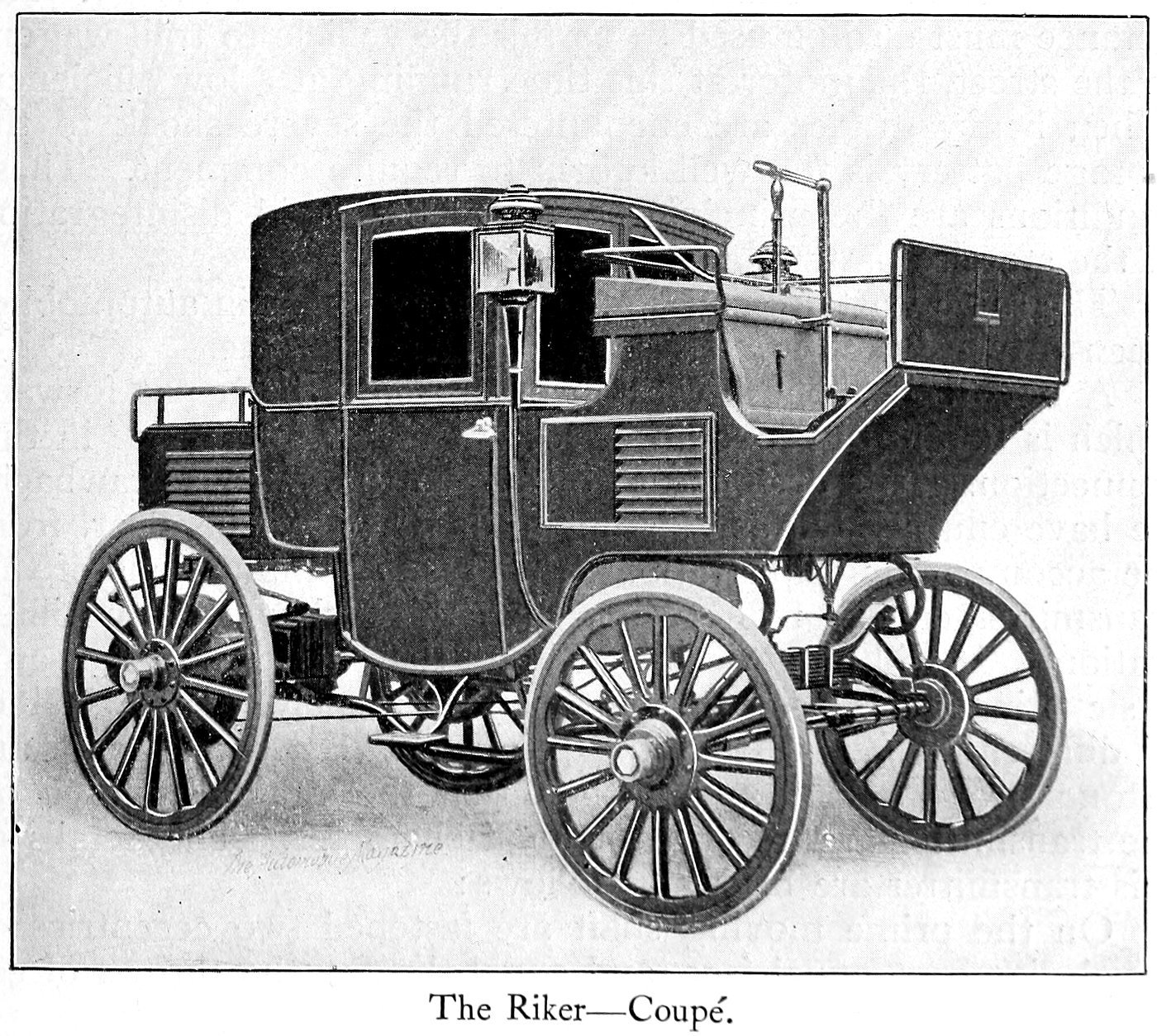 The Riker -- Coupe (1899)